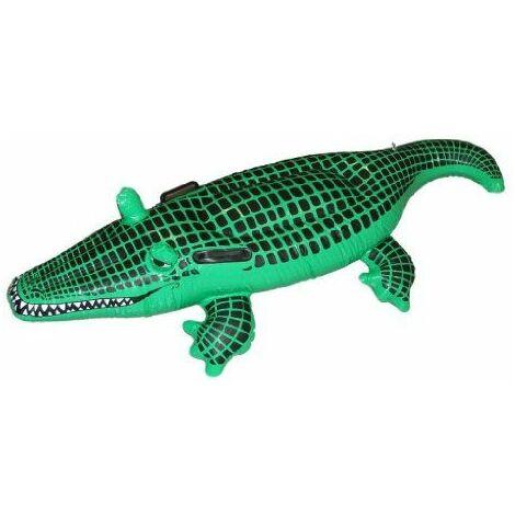 Générique - 351137 - Crocodile Vert Gonflable