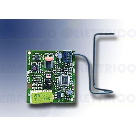 genius 2-channel radio receiver 433 rolling code rc 6100355 (ex 6100099)