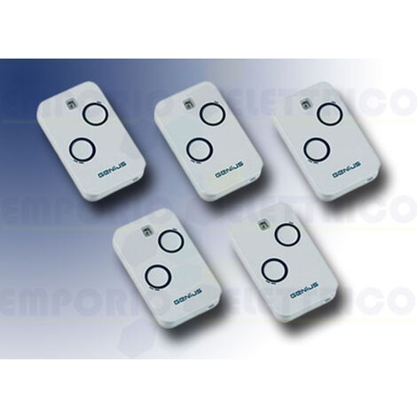 genius 5 2-channel remote controls 868mhz jlc kilo tx2 6100332