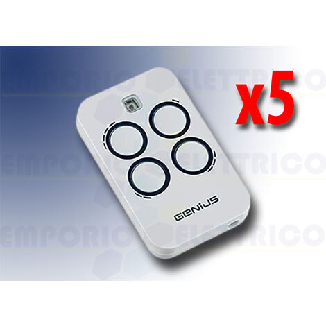 genius 5 4-channel remote controls 868mhz jlc kilo tx4 6100333