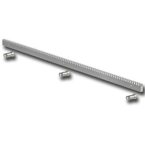 genius cremallera en hierro galvanizado 30x12 - 1 metro - ja146