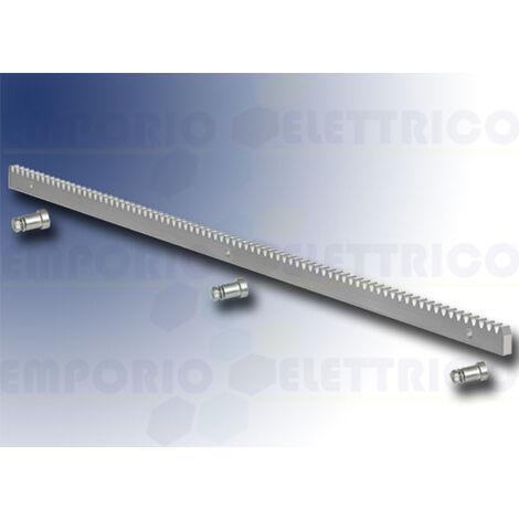 genius galvanized iron gear rack + fittings 30x12 - 1 meter - ja146