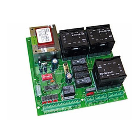 genius geo 05 electronic card 400v 3ph 6100116