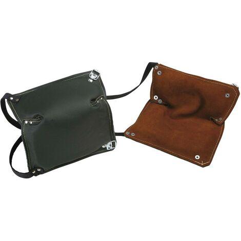 Genouillère en cuir 2487 marron, noir 1 paire(s)
