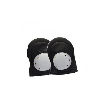 Genouillères double protection PVC noires