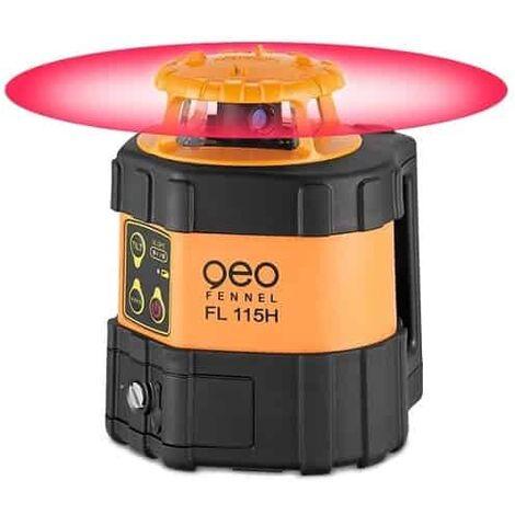 GEO Fennel Laser rotatif auto Horizontal Ø900 m FL115H + Cellule de réception FR45 - 211001