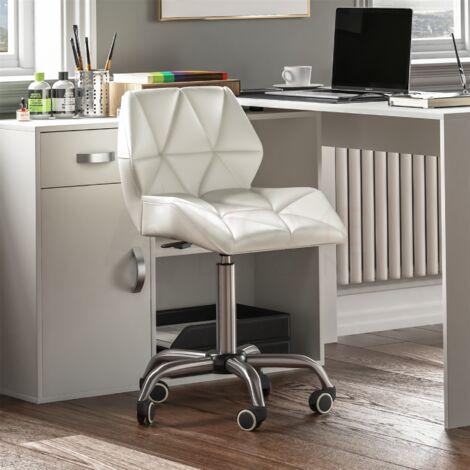 Geo Office Chair, White