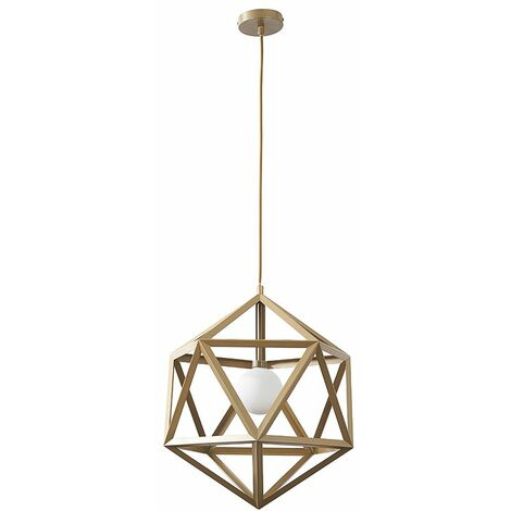 Geometric Ceiling Pendant Light