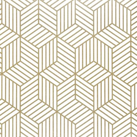 """main image of """"Geometric Hexagon Wallpaper Peel and Stick Wallpaper Removable Self Adhesive Wallpaper Vinyl Film Shelf Paper & Drawer Liner Roll for Home Use"""""""
