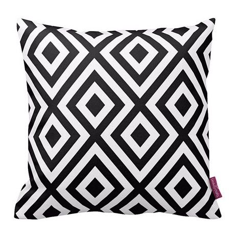 Geometrico Cushion Cover - Geometric, Cushion - Square - for Sofa, Bed - Multicolor made of Polyester, 40 x 40 x 1 cm