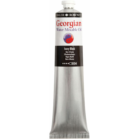 Georgian Watermixable Oil 119200034 200ml Ivory Black