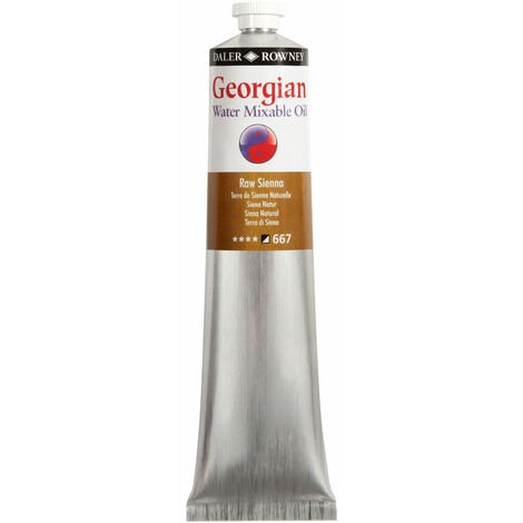 Georgian Watermixable Oil 119200667 200ml Raw Sienna