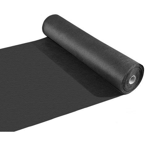 Géotextile tissé 120 gr / m2 pour Gazon synthétique - 1 m x 25 m