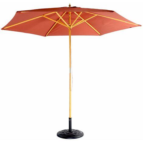 Gerader Sonnenschirm 3m rund - Cabourg