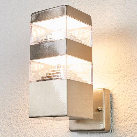 Geradlinige LED-Wandleuchte Sinja für draußen