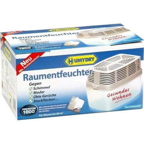 Humydry Nachf/üllpack 4 x 1kg Raumentfeuchter Vorteilspack inkl Ger/ät Luftentfeuchter