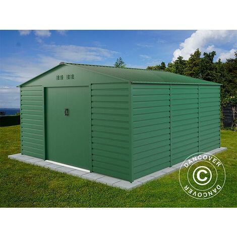 Geräteschuppen Metallgerätehaus 3,4x3,82x2,05m ProShed®, Grün