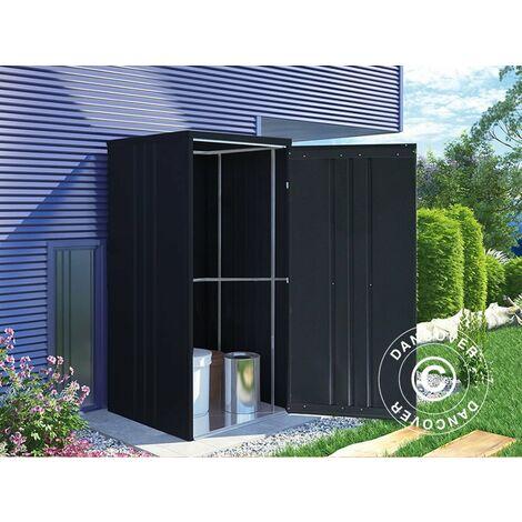 Geräteschuppen Metallgerätehaus/Metallschrank 0,95x0,85x1,8m, ProShed®, Anthrazit