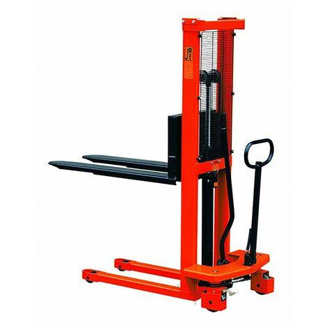 Gerbeur manuel charge max 1000kg (plusieurs tailles disponibles)