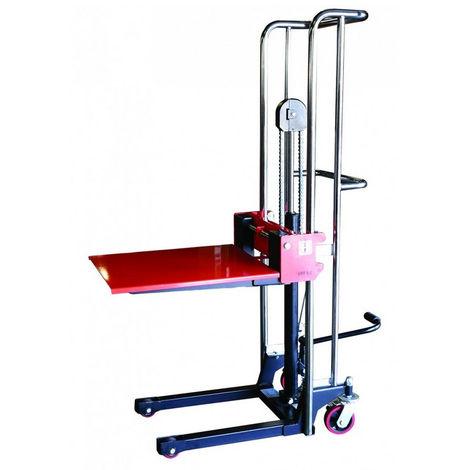 Gerbeur manuel charge max 400kg (plusieurs tailles disponibles)