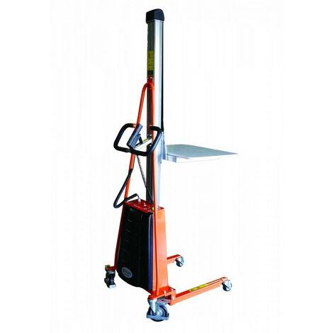 Gerbeur semi-électrique charge 100 à 250kg (plusieurs tailles disponibles)