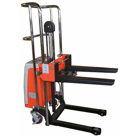 Gerbeur semi-électrique charge 400kg (plusieurs tailles disponibles)