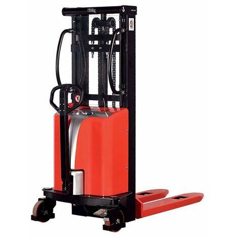 Gerbeur semi-électrique et haute levée pour charges très lourdes (plusieurs tailles disponibles)