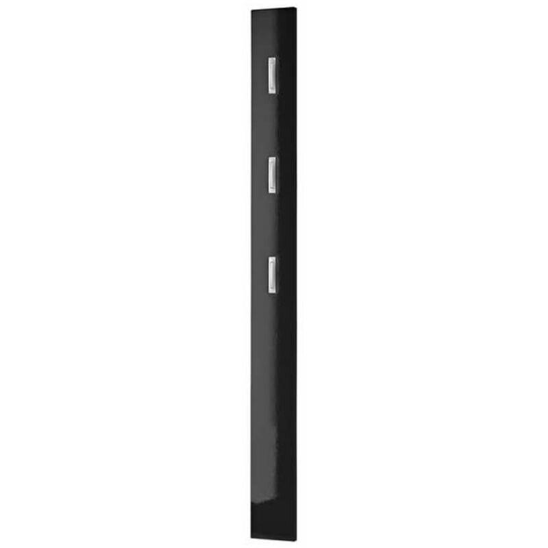 Image of Germania Coat Rack Panel Black 3255-83 - Black