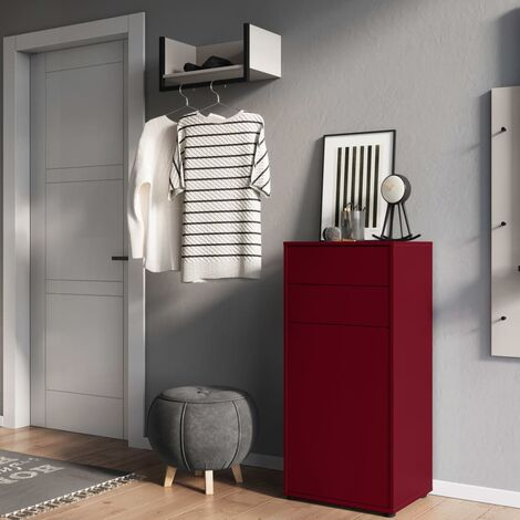 Germania Shoe Cabinet GW-Madeo Ruby Red - Red