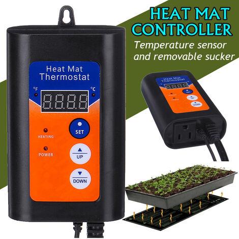 Germination des graines de contr?leur de température de thermostat de tapis chauffant numérique 1000W