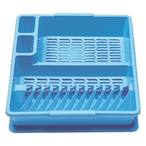 Geschirrabtropfkorb Kunststoff farbig sortiert 2209