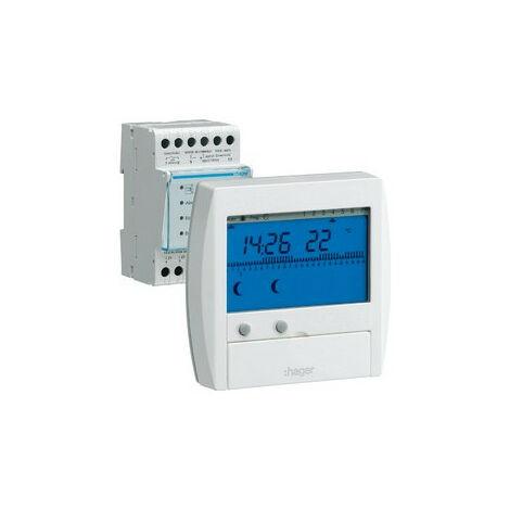 Gestionnaire d'énergie confort 2 zones 7j (49111)