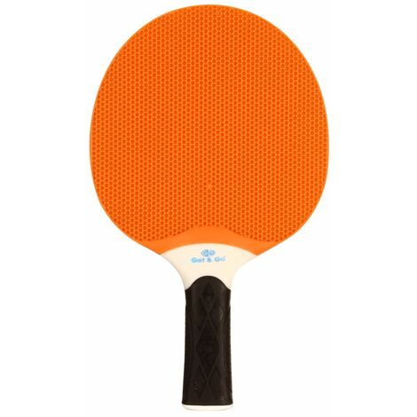 Get & Go Outdoor Table Tennis Bat Orange and Blue