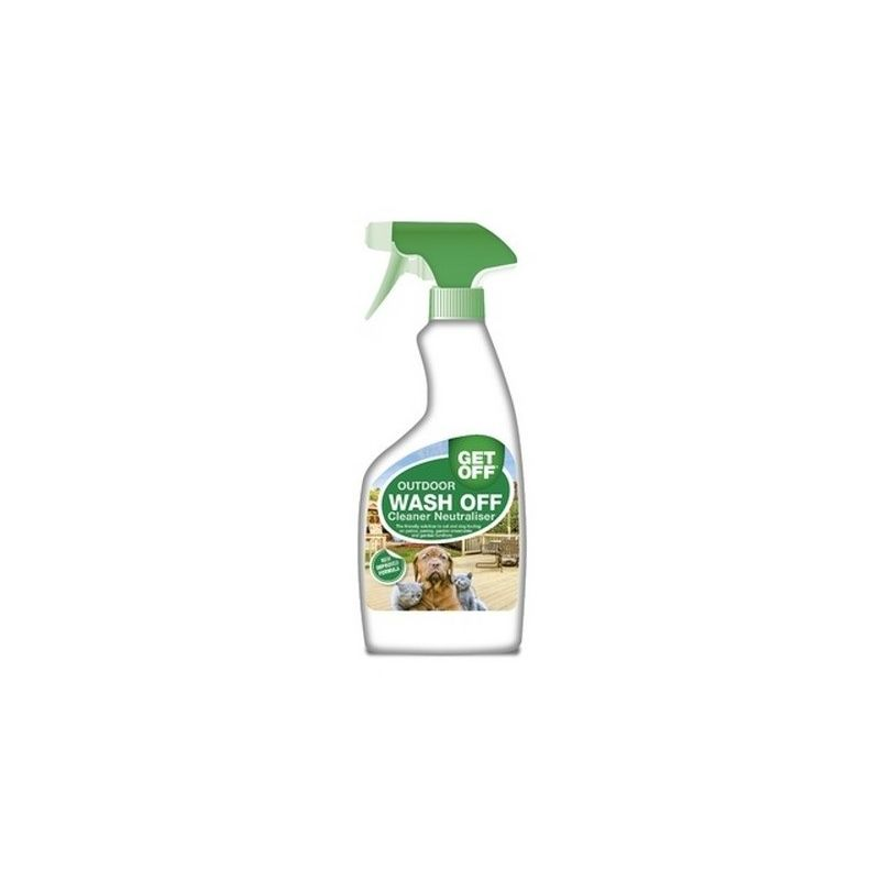 Image of Outdoor Wash Off Cleaner Neutraliser Spray Liquid (500ml) (May Vary) - Get Off