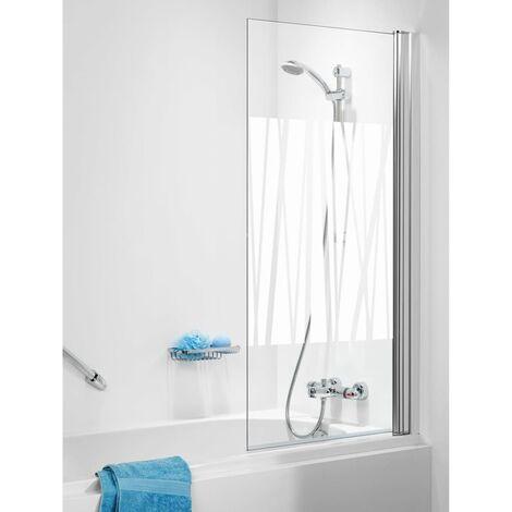 Parete Vetro Per Vasca.Get Wet By Sealskin Parete Vasca S105 70 Cm Vetro Decorato