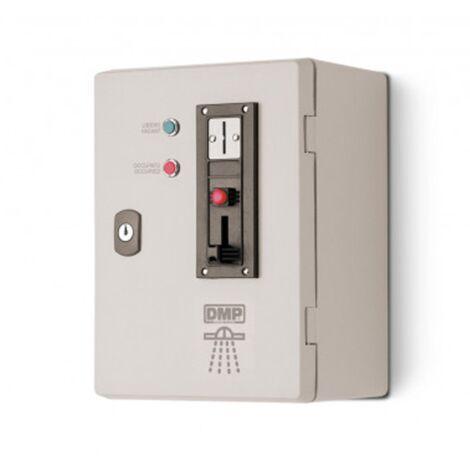 Gettoniera elettronica per comando doccia Nilo Dmp con gettone 0,50 cent
