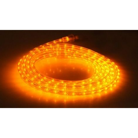 Gev 020344 - LED strip IP44 230V 6,6m couleur yellow