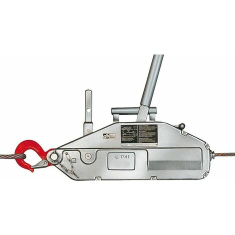 GEWA cable avec bube de levee, cable et Devidoir a main, Type Y 16, force de traction 1600 kg, L de cable 20 m