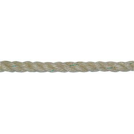 GEWA- Corde en fibre, chanvre tourne d 16 mm, Longueur 10 m Couleur marron-beige