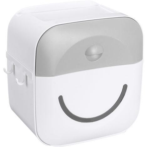 Gewebehalter Regal Wand Papierröhre Aufbewahrungsbox Grau