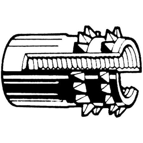 Gewindeeinsätze M4 Messing Form E 200 Stk