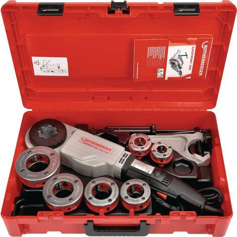Gewindeschneidmaschine Set SUPERTRONIC® 2000 Rothenberger