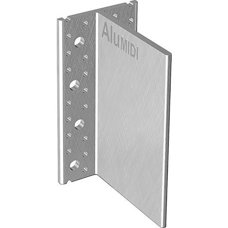 GH Baubeschläge Integralverbinder Typ ALU 200x109,4x6,0mm (Inh. 15 Stück)