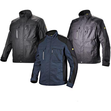 Giacca da lavoro Geox Diadora Utility Workwear jacket Tech Nero xxxxl 745caa3a69c