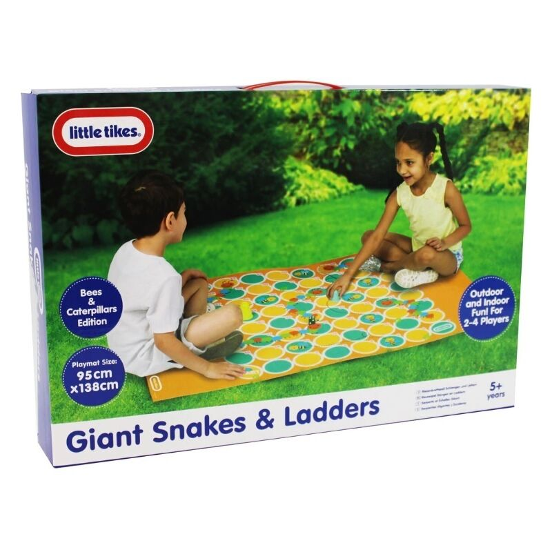 Image of Little Tikes - Giant Snakes and Ladders Game - Bees and Caterpillars Edition