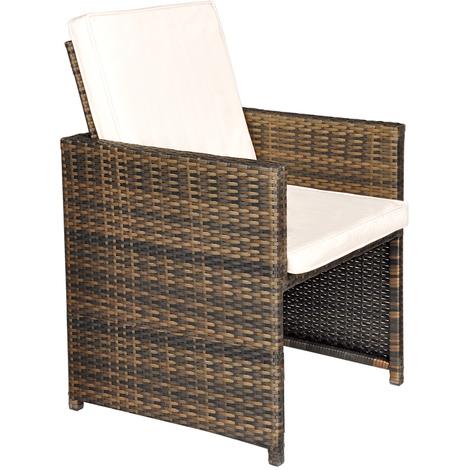 Set Giardino In Rattan.Giardino Rattan Garden Furniture 4 Seat Cube Dining Set Plus Umbrella