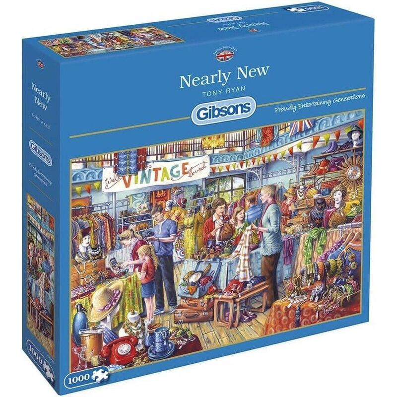 Image of Nearly New Jigsaw Puzzle - 1000 Pieces