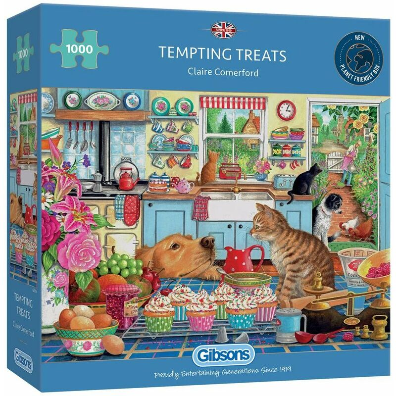 Image of Gibsons 1000 Piece Tempting Treats Jigsaw Puzzle