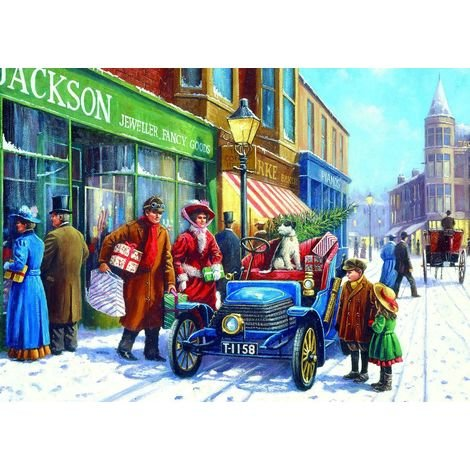 Gibsons 100XXL Family Christmas Shop Jigsaw Puzzle