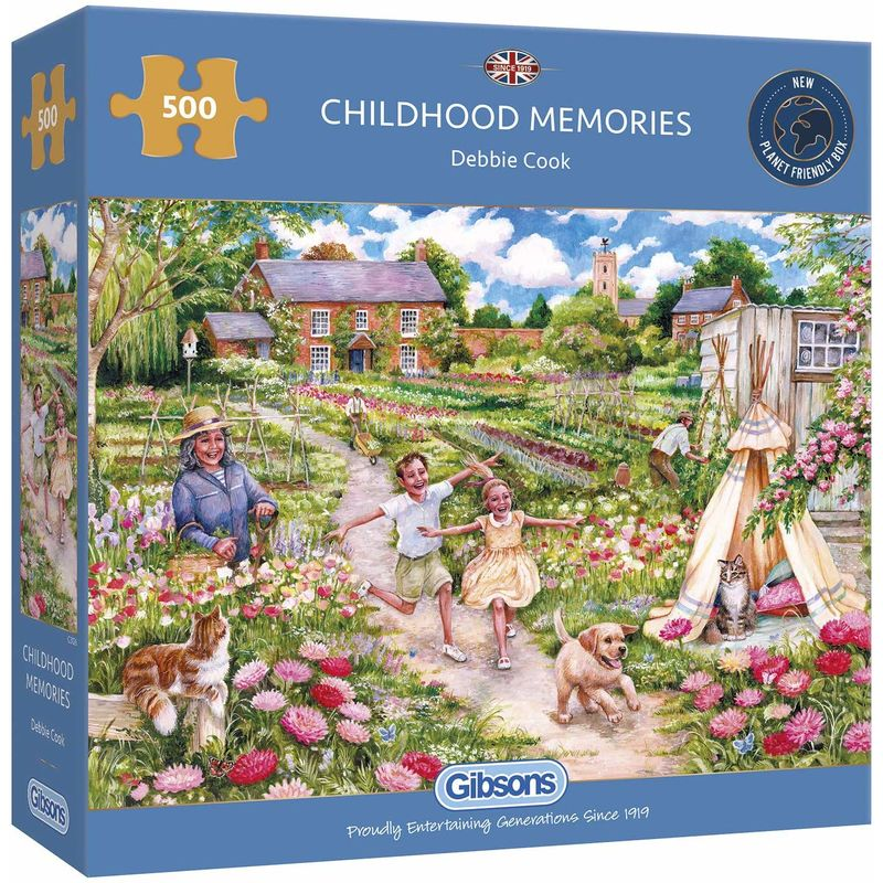 Image of Gibsons 500 Piece Childhood Memories Jigsaw Puzzle